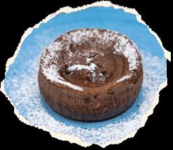 Soufflè al cioccolato bianco