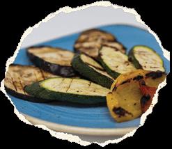 Verdure grigliate piccole